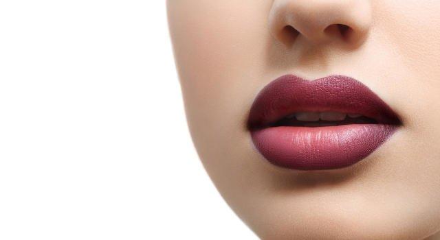 Gel gevulde lippen