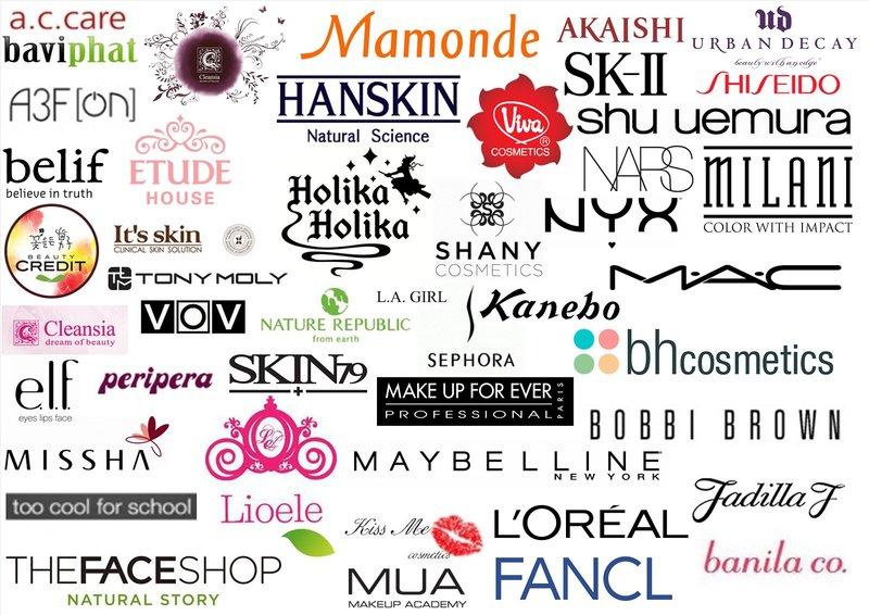 Wereldwijde cosmeticafabrikanten