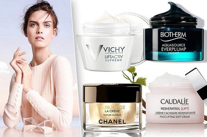 Beoordeling van de beste gezichtscrèmes na 40 jaar