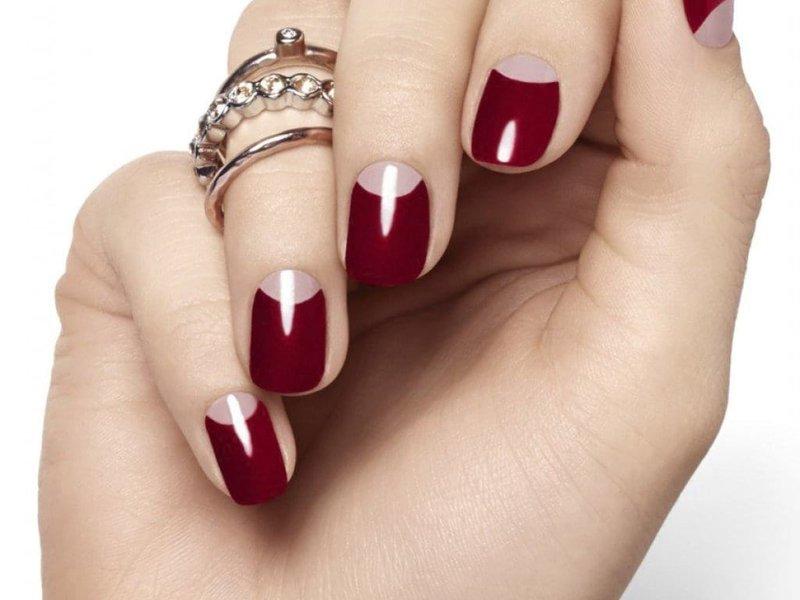 Moon nail art
