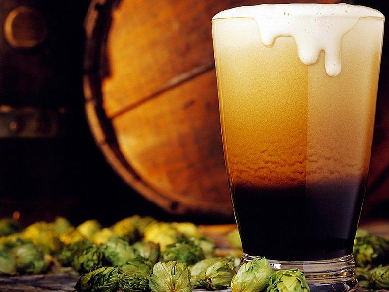 Donker bier voor haargroei