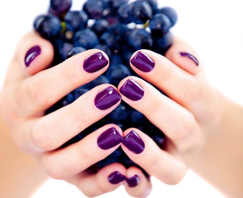 Zwart-wit manicure