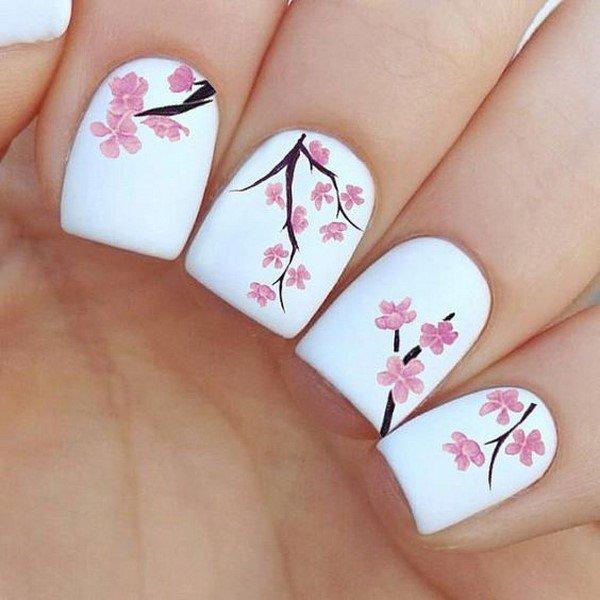 Japanse stijl manicure