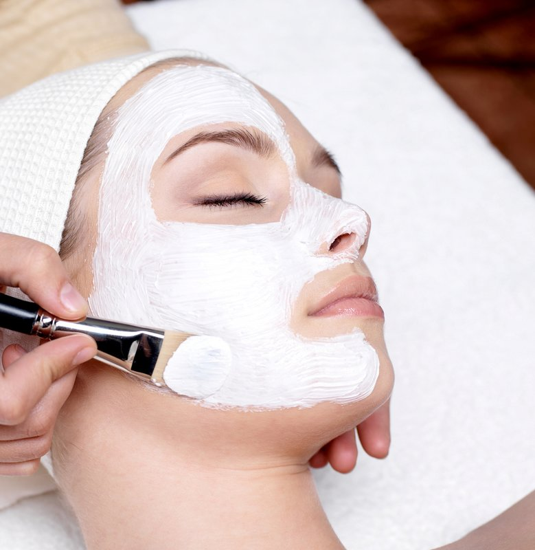 Masker voor de droge huid