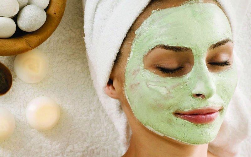 Klei gezichtsmasker