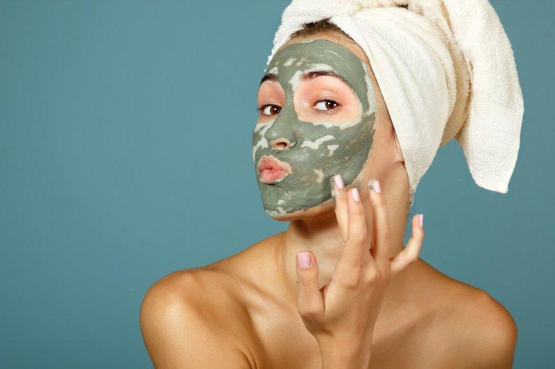 Gezichtsmasker met anti-aging effect