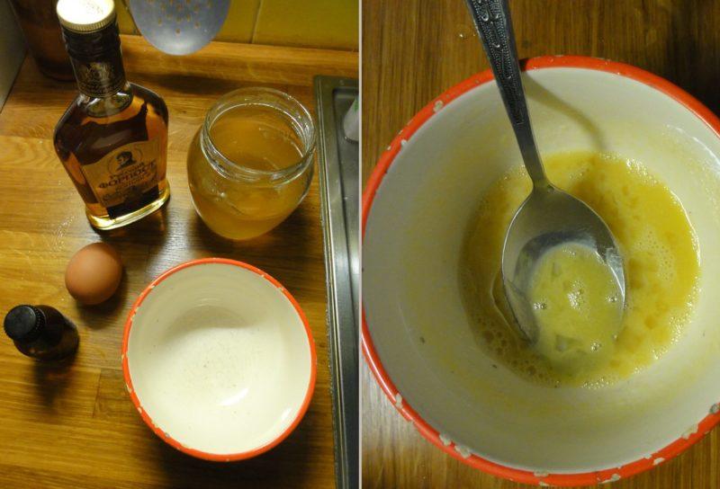 Ingrediënten en Ready Brandy Mask