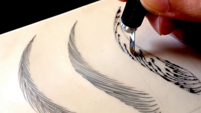Plaukų tatuiruotės tipai