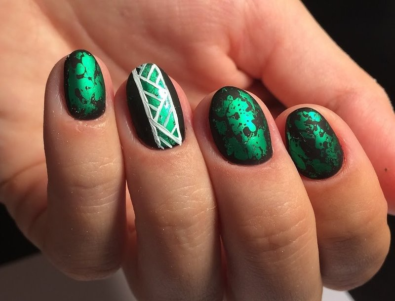 Manicure-opties met folie