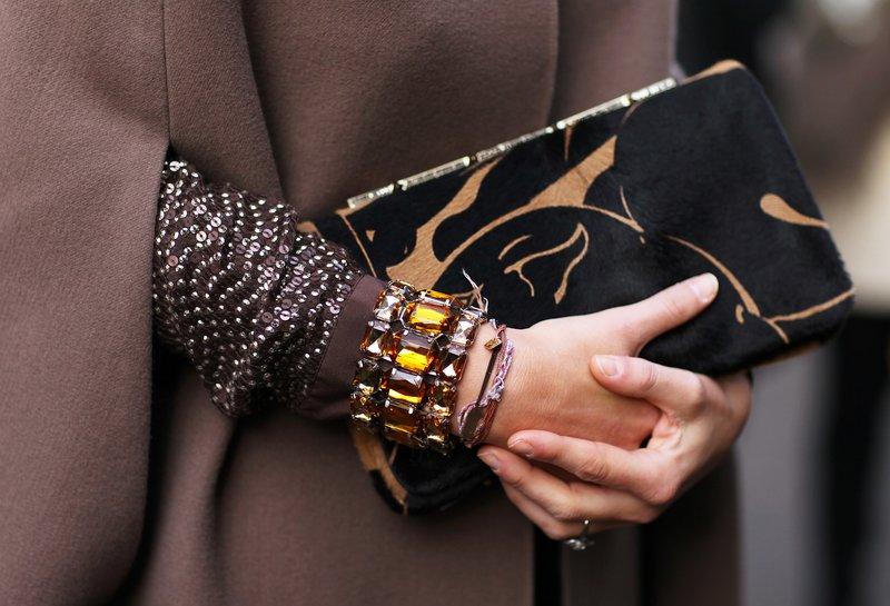 Bracelet Ambre Multicouches