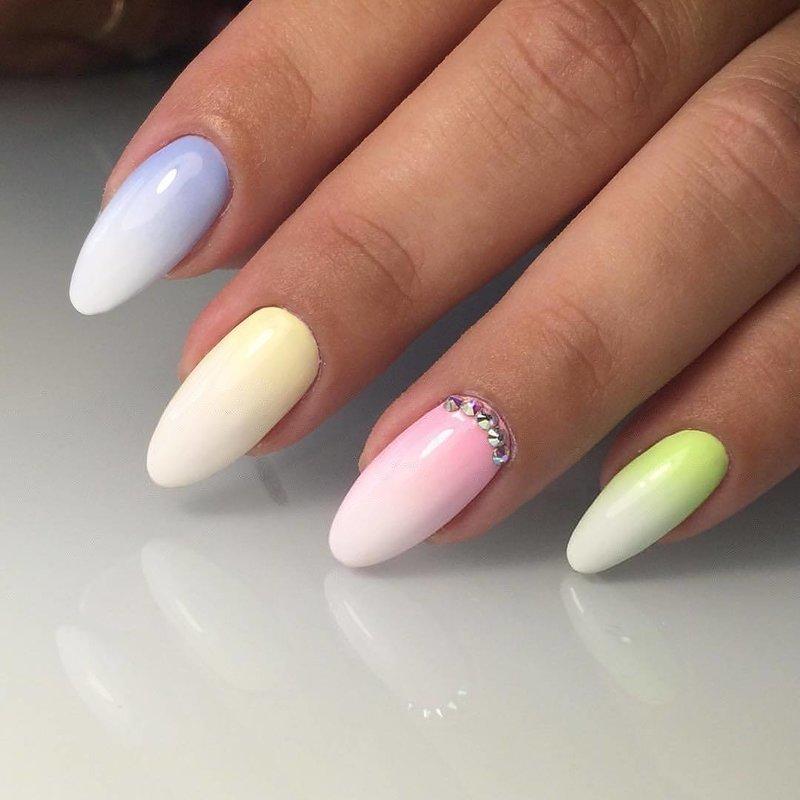 Zachte Ombre-manicure