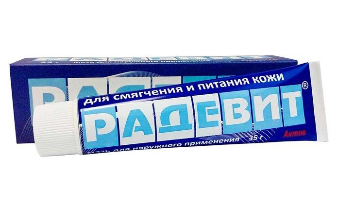 Cream Radevit: instructies voor gebruik