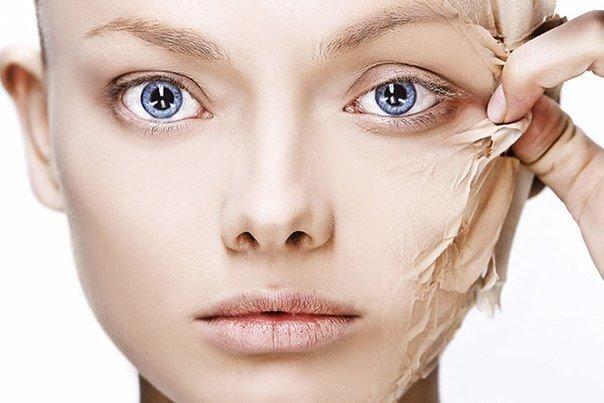 Wat kan niet worden gedaan met een schilferige huid?
