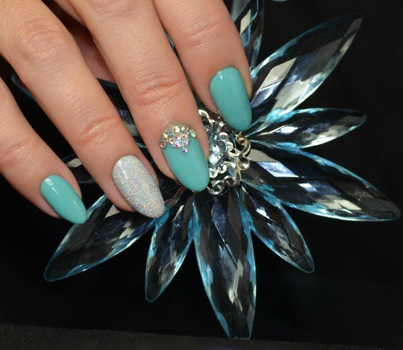 Tiffany glitterstijl