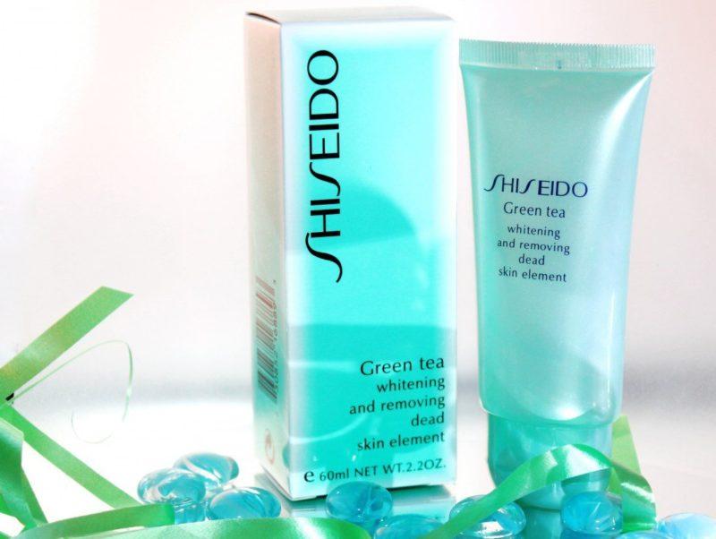 Shiseido Groene Thee Gezichtspeeling