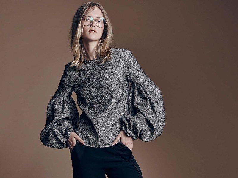 Fancy Sleeve Sweaters