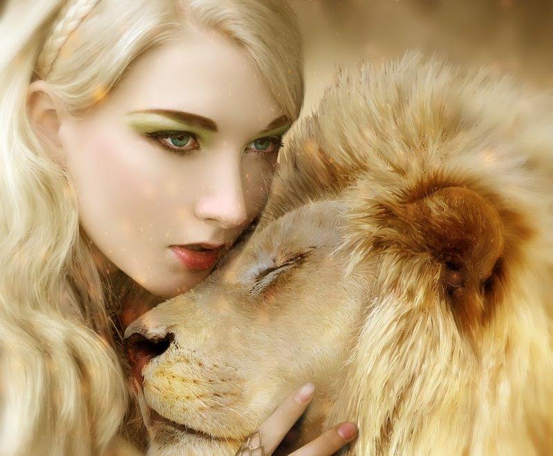 Lion vrouw