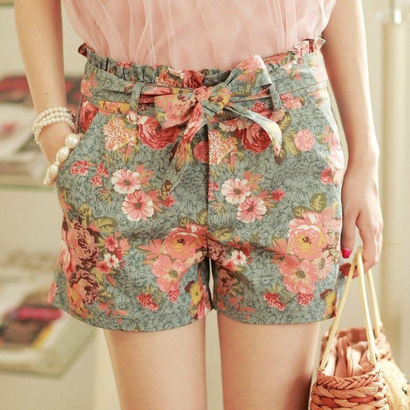 Katoenen shorts voor dames