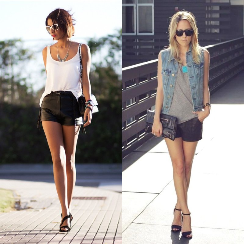 Zomerlook in casual stijl.