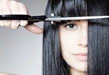 Modeliavimas kirpčiukai ant ilgų plaukų