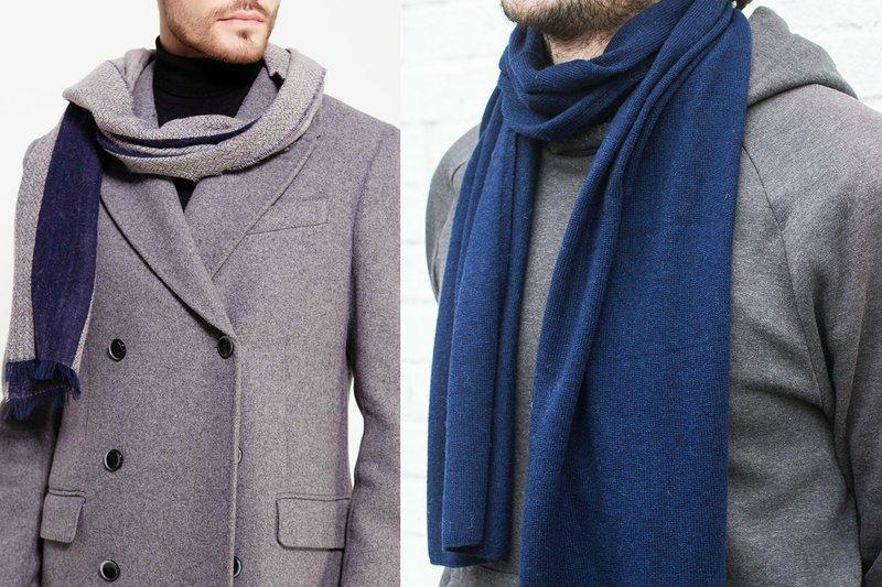 Klassieke sjaal voor heren