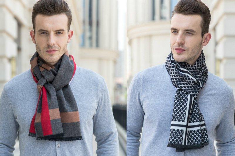 Kasjmier sjaal voor heren