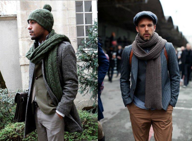 Modieuze gebreide sjaals