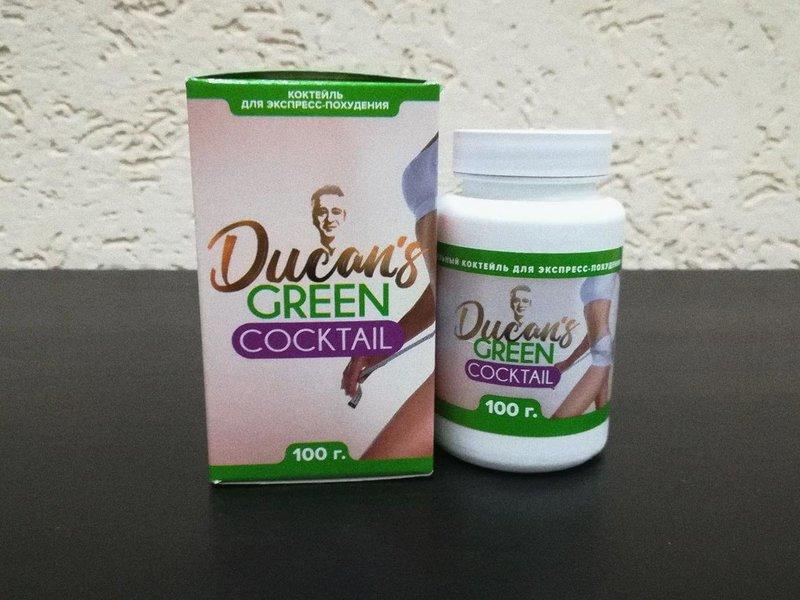 Groene Ducane Cocktail