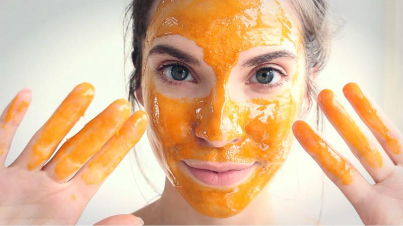 Honing gezichtsmasker
