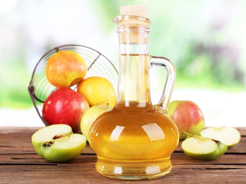 Obuolių sidro actas balinimui