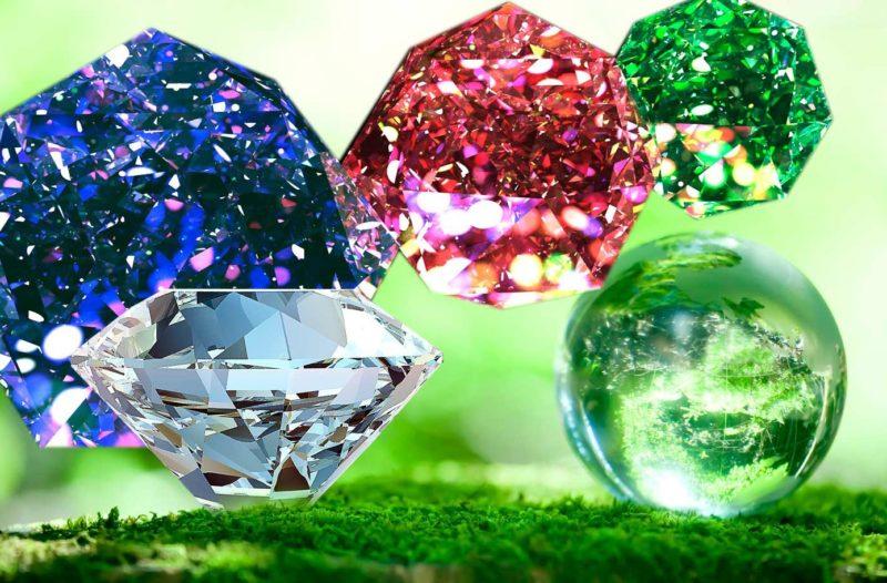 Selectie van seizoensgebonden stenen