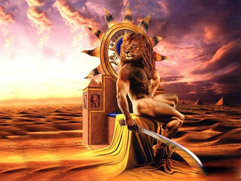 Homme de lion