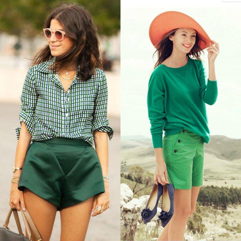 Dames shorts: kort en lang