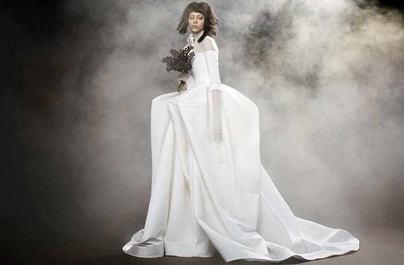 Vera Wong herfst trouwjurk