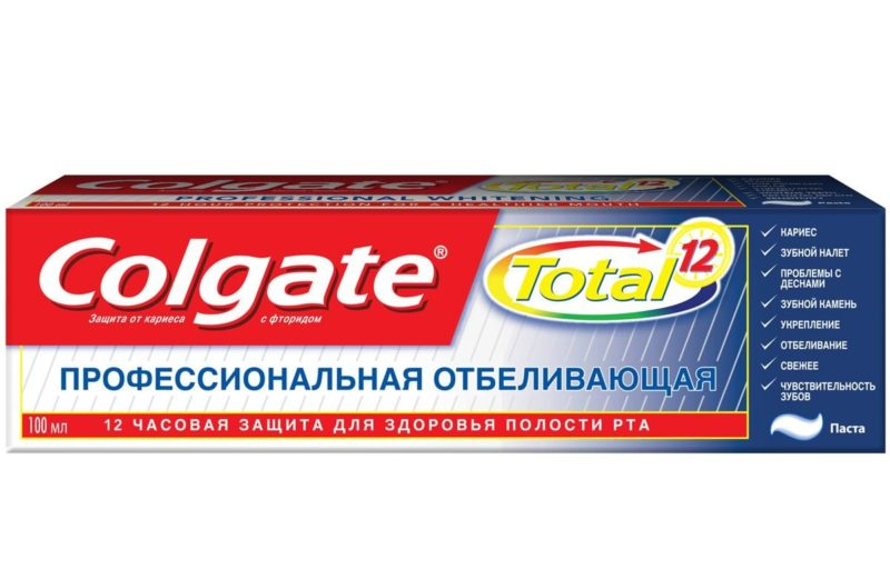 Dantų balinimo pasta