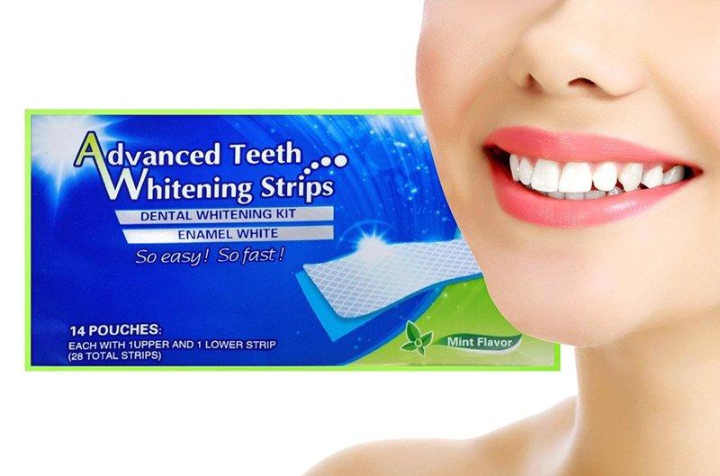 Dantų balinimo juostelės