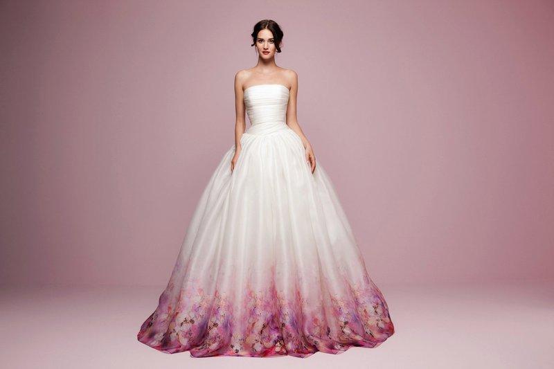 Weelderige lente-jurk