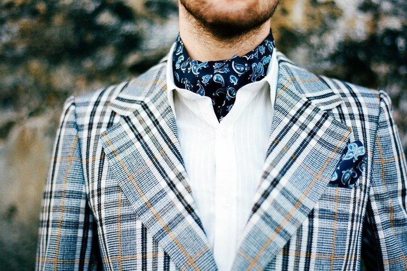 Elegante halsdoek voor heren