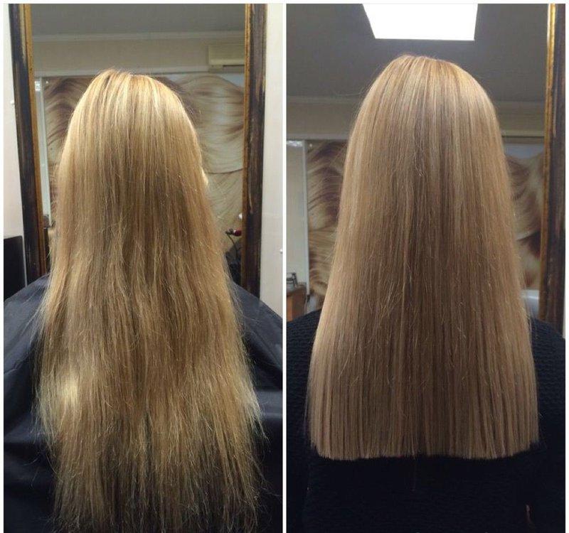 Lang kapsel voor lang haar