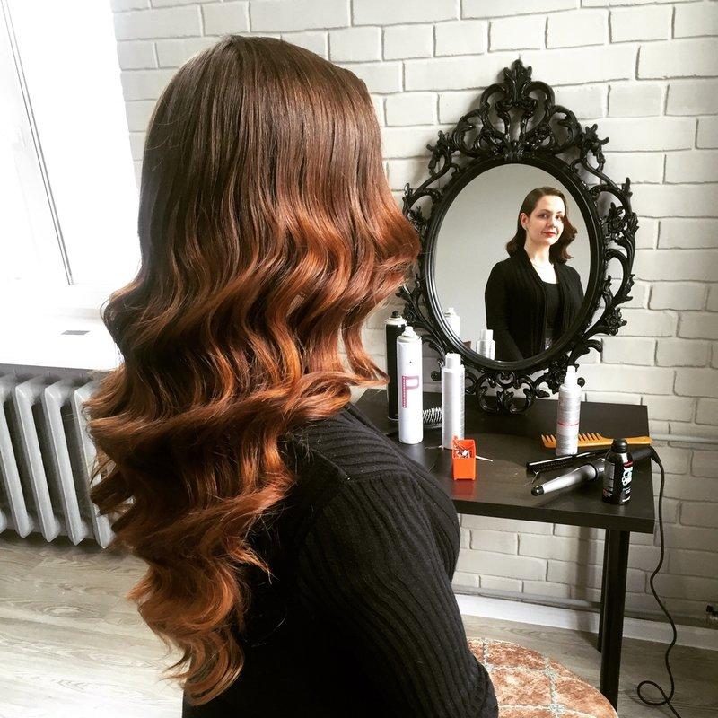 Golven op lang haar