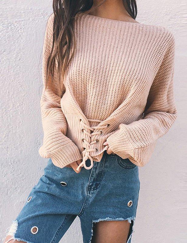 Sweater aan de voorkant