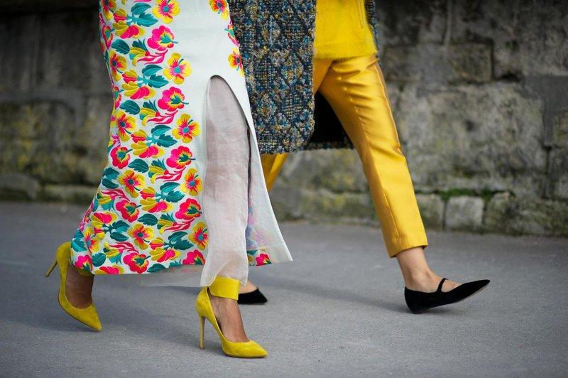 Madingi geltoni batai