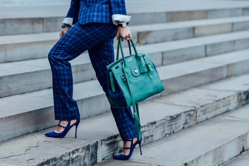 Mėlyni moteriški batai