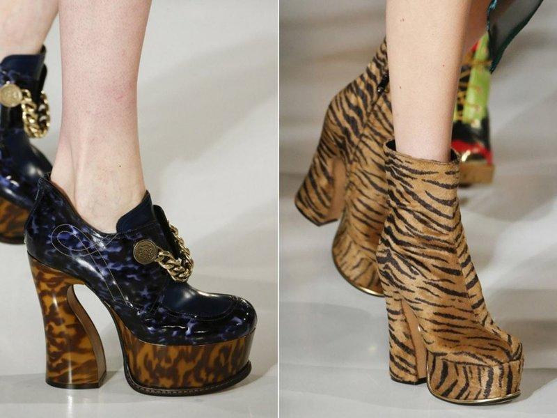 Gyvūnų atspaudai ant batų