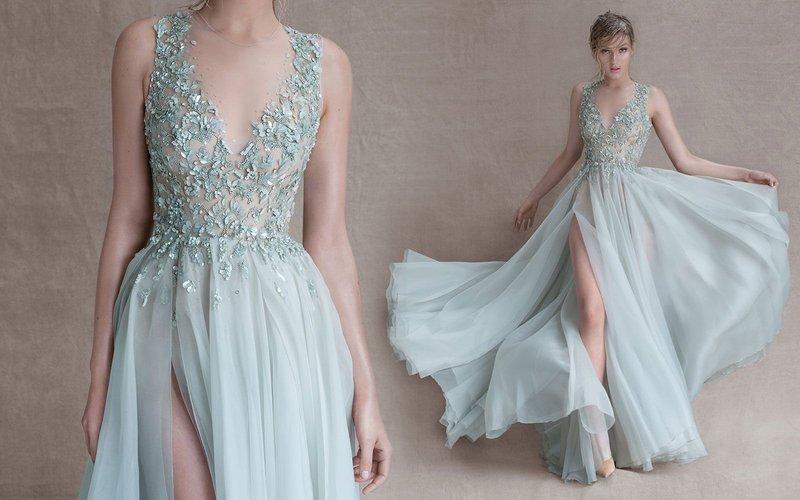Pastel jurk