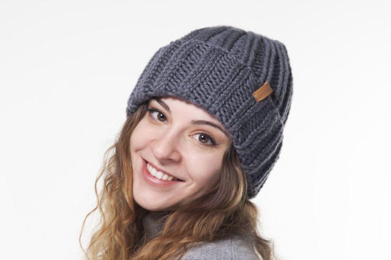 Granitinė megzta skrybėlė