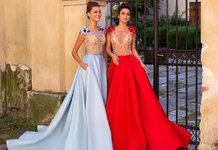 Madingos vakarinės suknelės