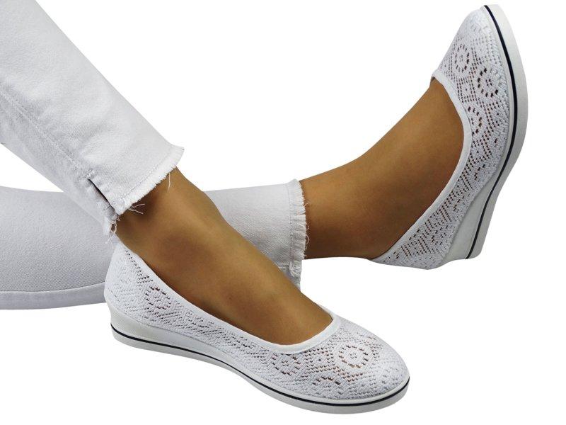 Textiel balletschoenen