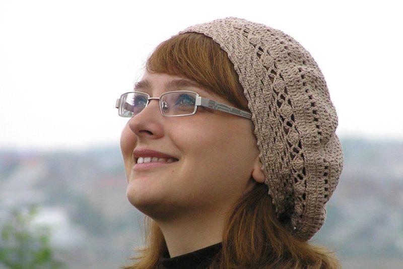 Klasikinė megzta beretė