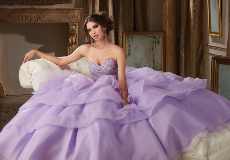 Lavendel jurk